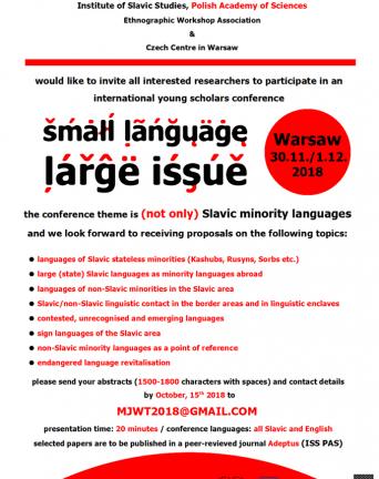 Konferencja Mały język, wielki temat