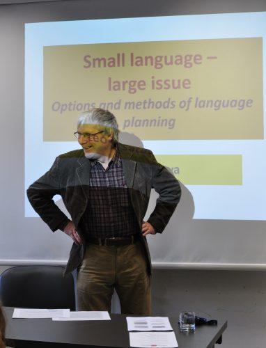 Fotorelacja z konferencji Mały język, wielki temat